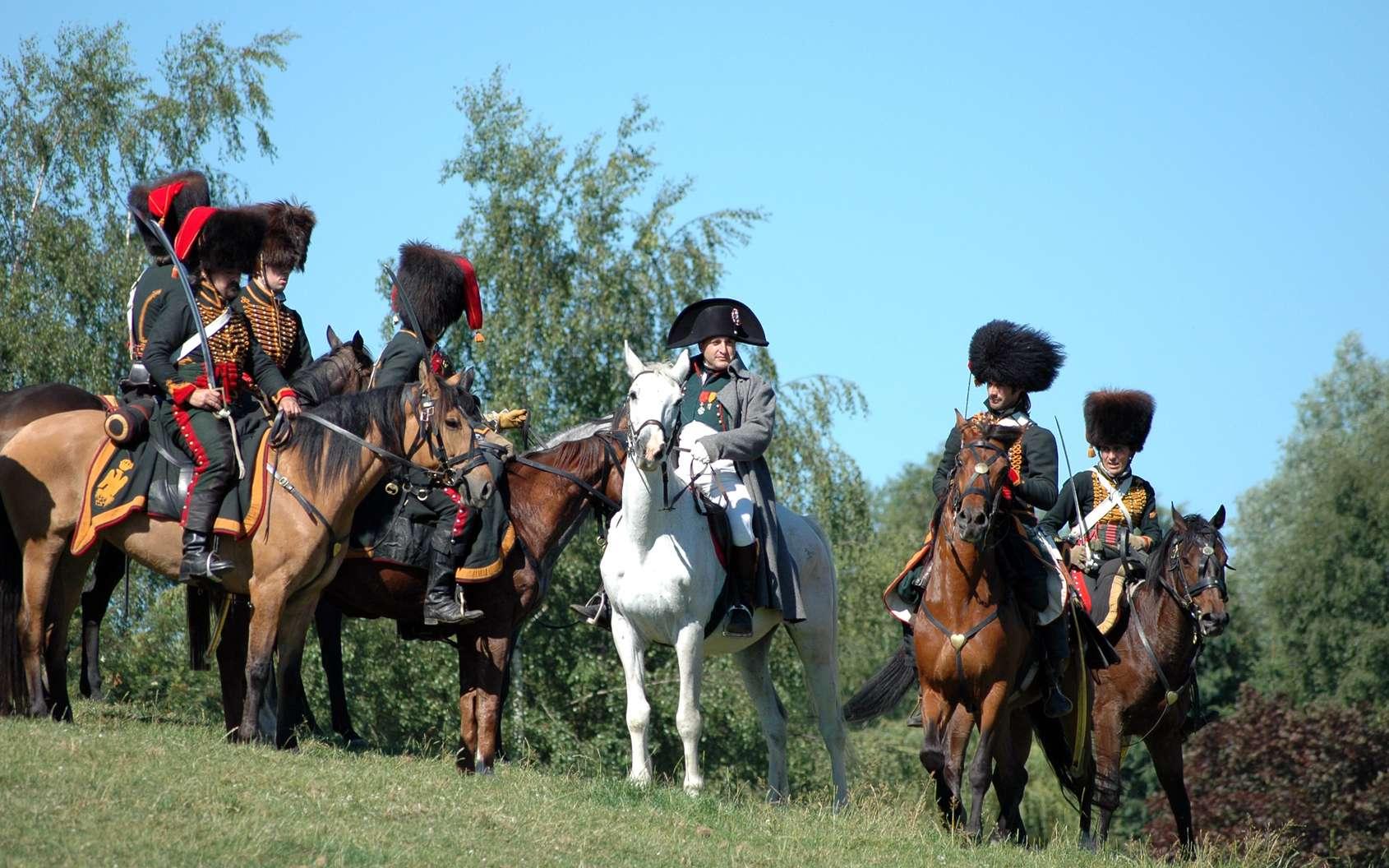 Les défaites de Napoléon comme Waterloo font l'objet de reconstitutions historiques régulières. © Martine Thibert, fotolia