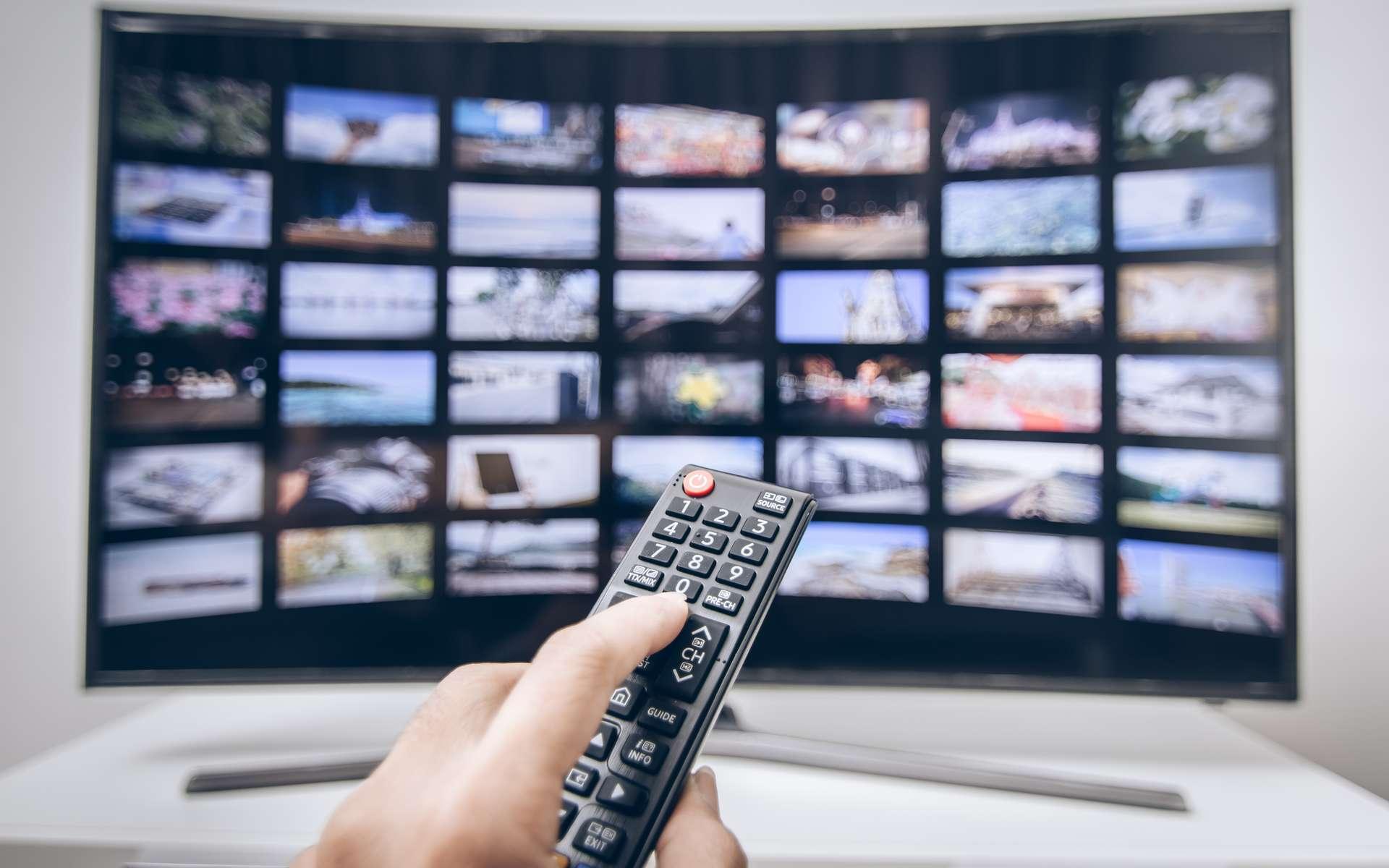 La smart TV, bien plus qu'une télévision. © madeaw, Adobe Stock