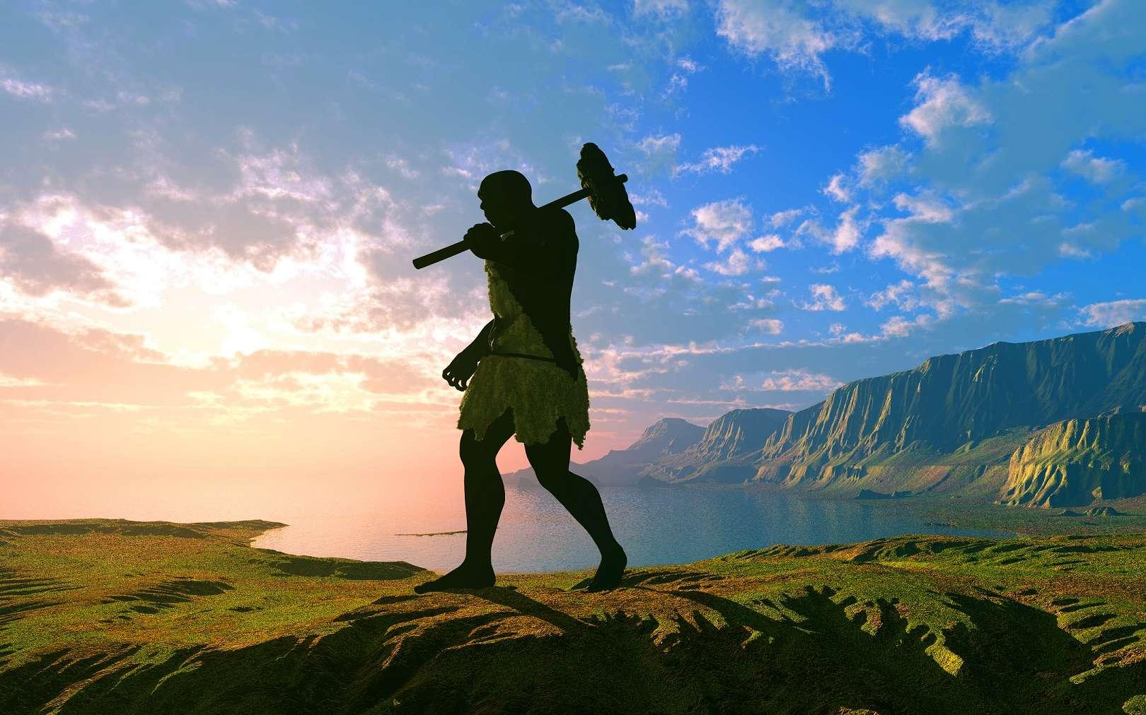 En Europe, il y a 50.000 ans, les Hommes modernes ont rencontré les Hommes de Néandertal qui ont ensuite disparu. Aujourd'hui, il reste encore un peu de leur ADN dans le patrimoine génétique des Européens... © iurii, Shutterstock
