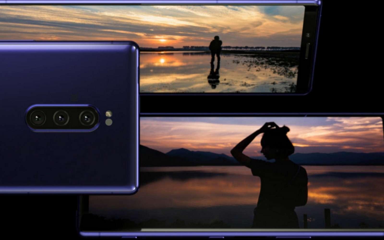 L'Xperia 1 sera commercialisé en mai prochain au prix de 999 euros. Outre son écran, il dispose d'optiques photo de qualité et d'une configuration musclée. © Sony