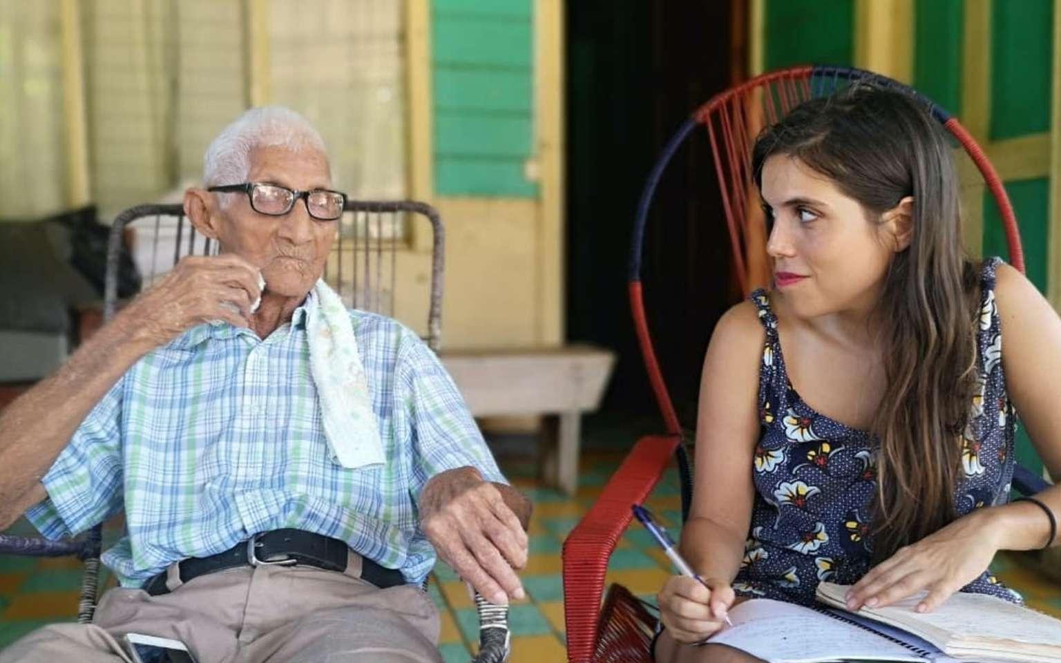 Au Costa Rica, Aïna Queiroz a soumis une enquête ethnobotanique à différentes personnes âgées. © Seqens Cosmetics