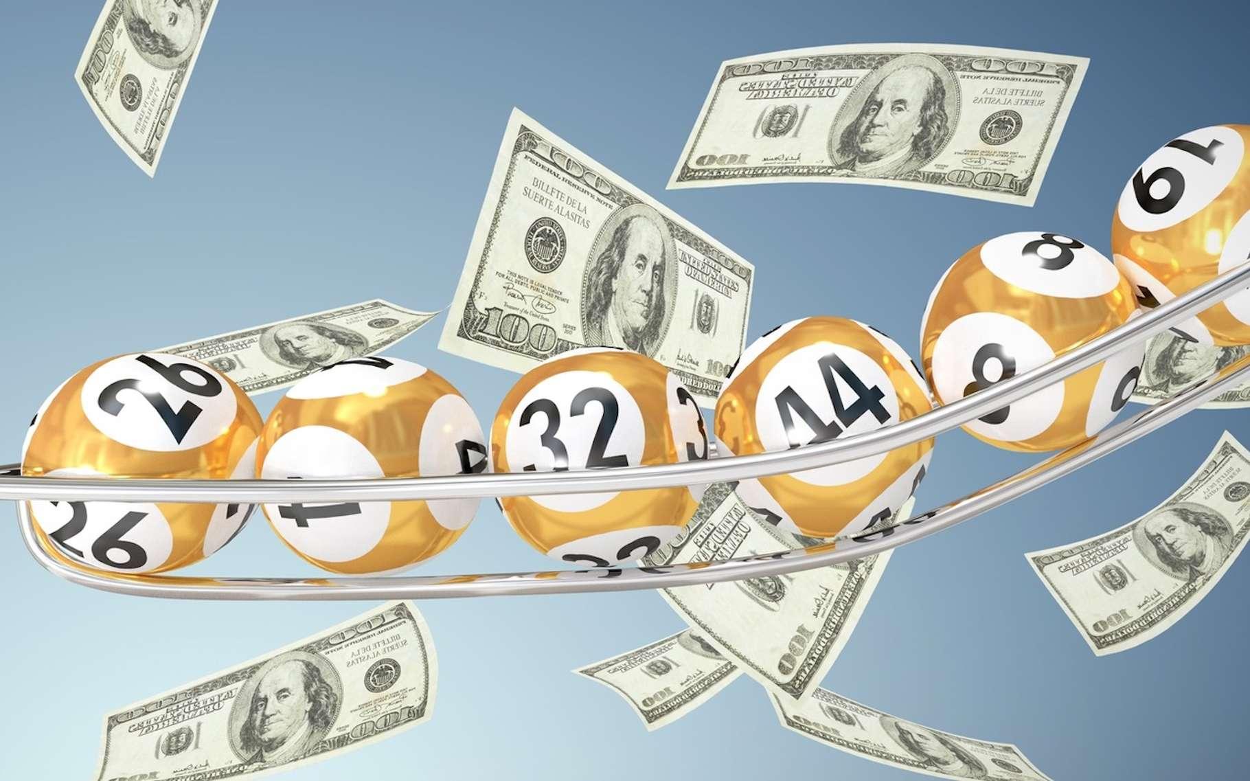 Les chances de gagner le gros lot au loto sont faibles. Elles augmentent si l'on tient compte de toutes les possibilités de l'emporter. © vectorfusionart, Fotolia