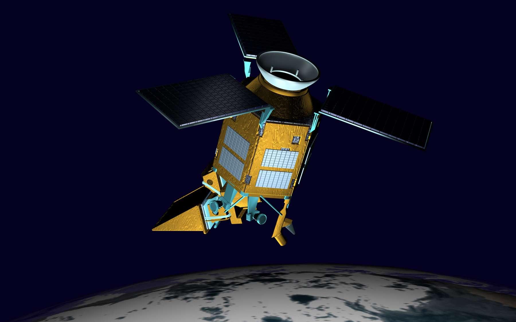 Sentinel 5 Precursor, avec son instrument Tropomi (TROPOspheric Monitoring Instrument), mesurera de nombreux paramètres de l'atmosphère terrestre pour aider les scientifiques à mieux prédire son évolution future et à fournir de meilleures prévisions météorologiques. © Airbus