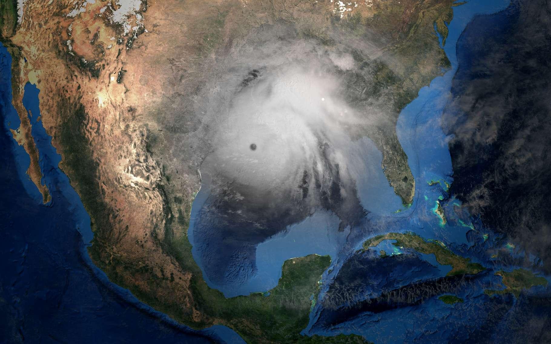 Comme annoncé par les météorologues, la saison des ouragans 2020 dans l'Atlantique nord a été extrêmement violente. © Sasa Kadrijevic, Adobe Stock