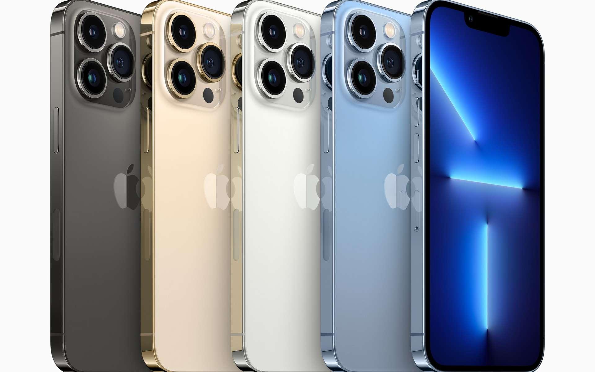 Les nouveaux iPhone 13 Pro et Pro Max pourront enregistrer et monter la vidéo avec le codec ProRes. © Apple