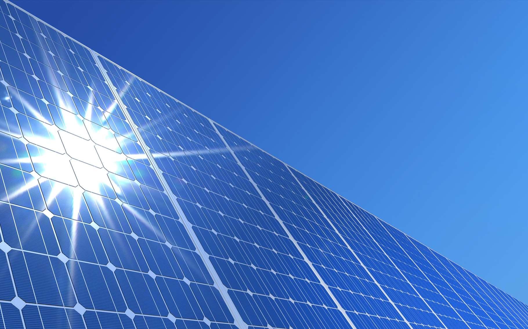Le fonctionnement des panneaux solaires photovoltaïques repose sur l'effet photoélectrique. © koya979, Shutterstock