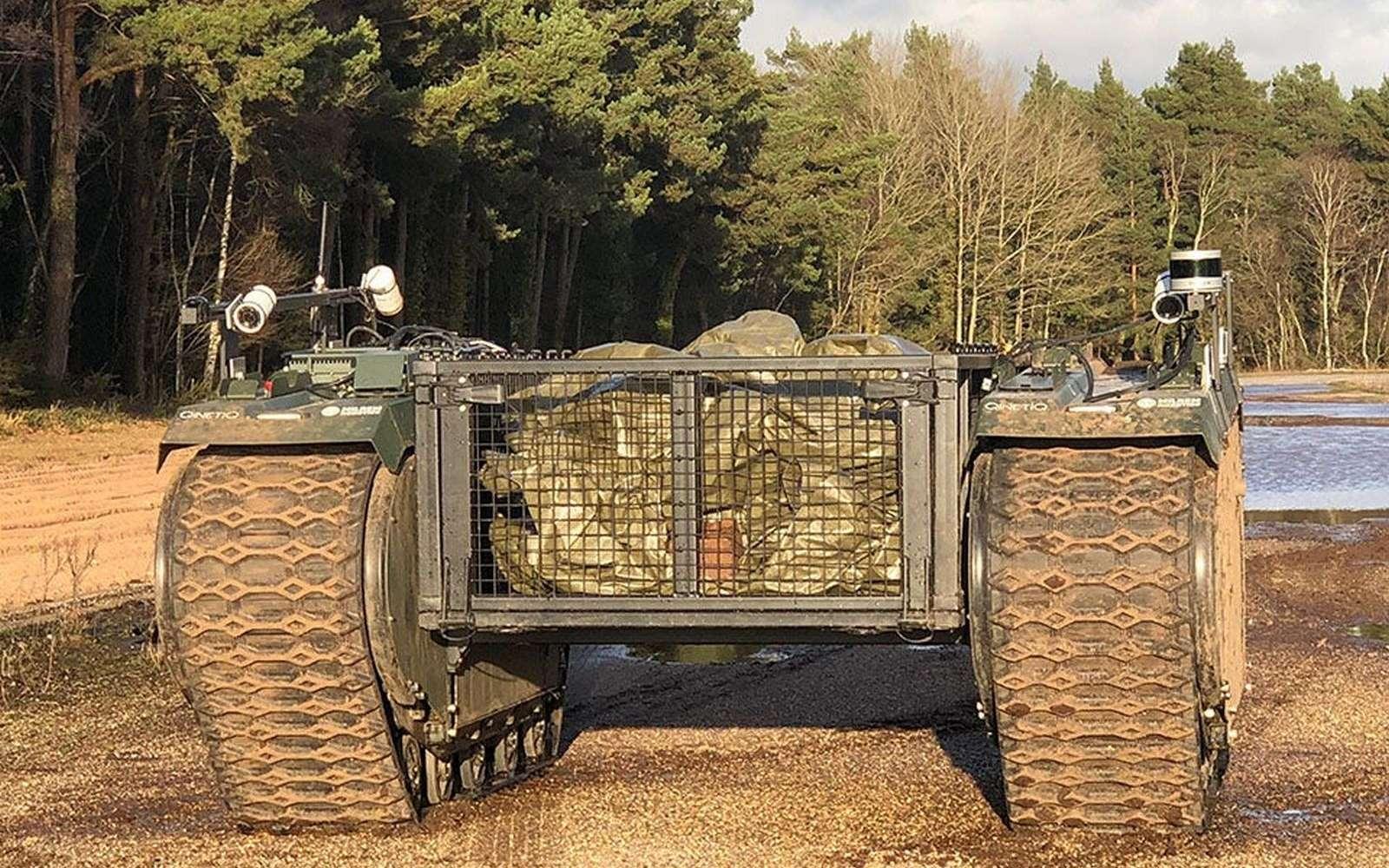 Le Royaume-Uni vient d'entamer son plus important exercice militaire impliquant des systèmes robotisés autonomes. © Crown Copyright