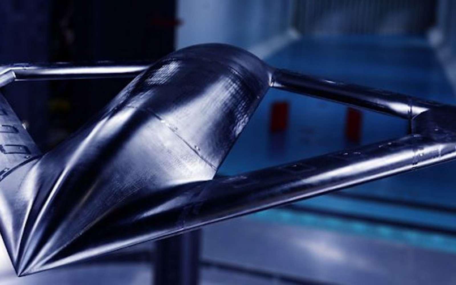 Pas d'ailerons, pas de dérive ni de volets, voici à quoi ressemblera le démonstrateur conçu pour la Darpa. © Aurora