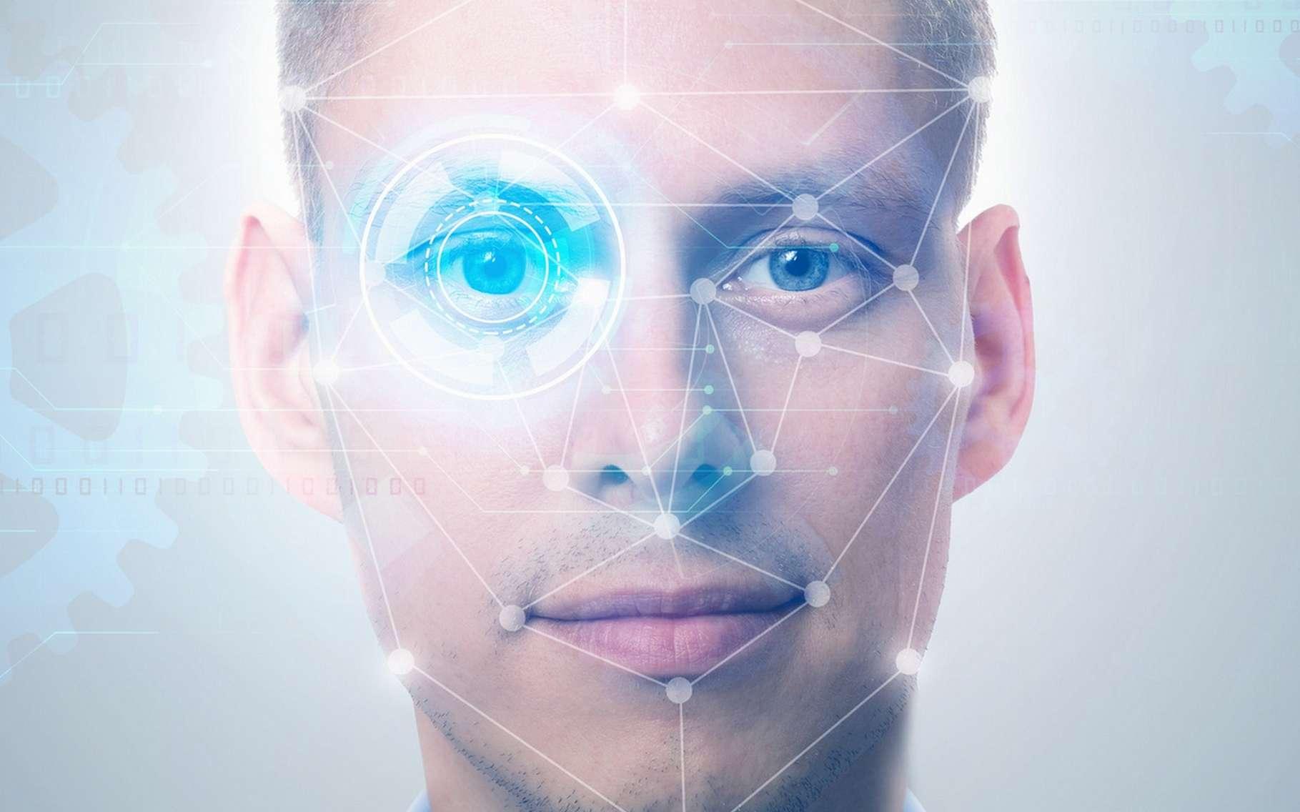 La reconnaissance faciale est l'une des nouveautés mises en avant par Samsung avec le Galaxy S8. © Santiago Silver