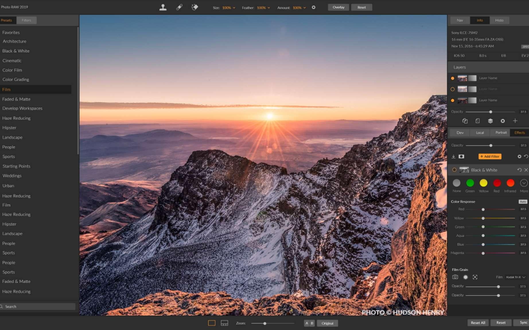 Futura a choisi pour vous les meilleurs logiciels de retouche photo. © Hudson Henry