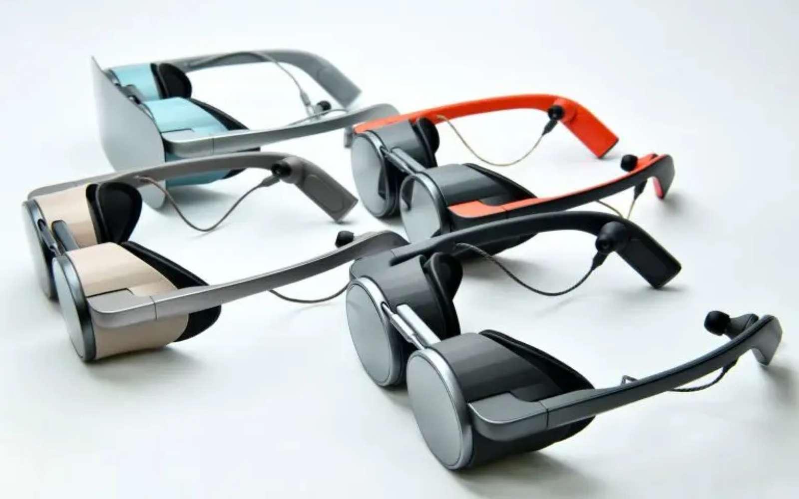 Il ne s'agit que d'un prototype, mais les lunettes de VR dévoilées par Panasonic sont bien plus séduisantes que les modèles actuels. © Panasonic