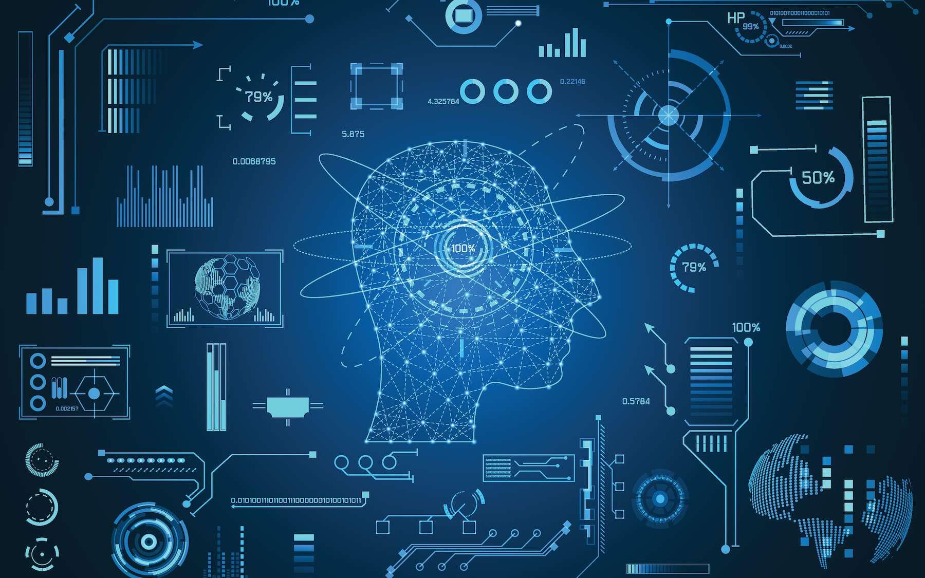 Intelligence artificielle et données de santé : un mariage réussi. © Tex vector, Adobe Stock
