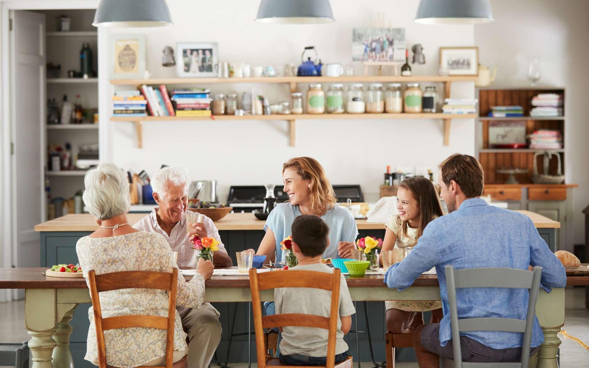 Les malades du Covid-19 contaminent la moitié des membres de leur foyer. © Monkey Business Images, Shutterstock