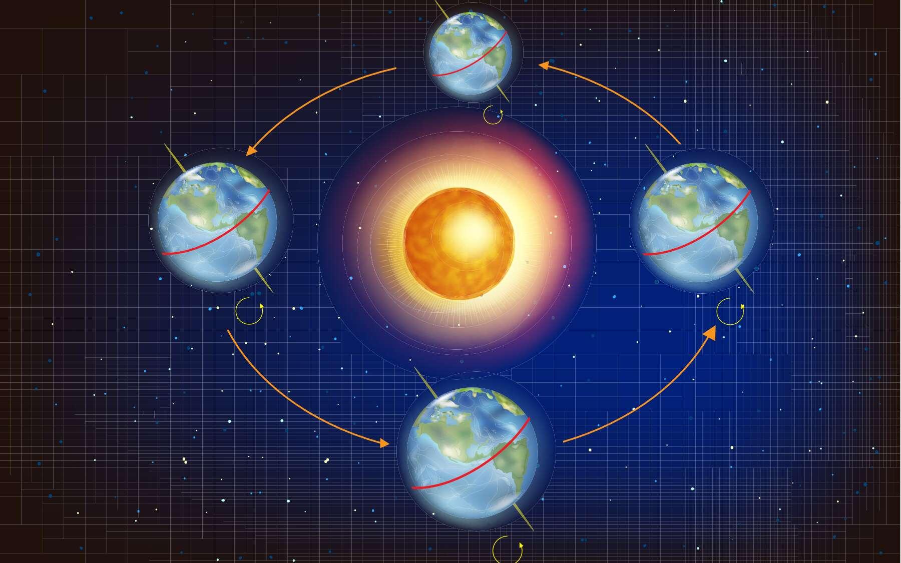 L'aphélie est le point le plus éloigné de la Terre par rapport au soleil. © sakurra, Adobe Stock