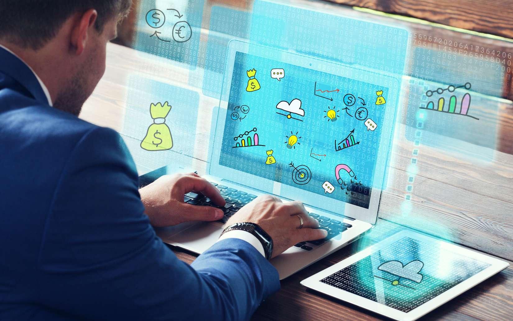 Principale mission du webmarketer, rendre le site de son entreprise visible afin d'augmenter les visites d'internautes et les ventes potentielles. © putilov_david, Fotolia.