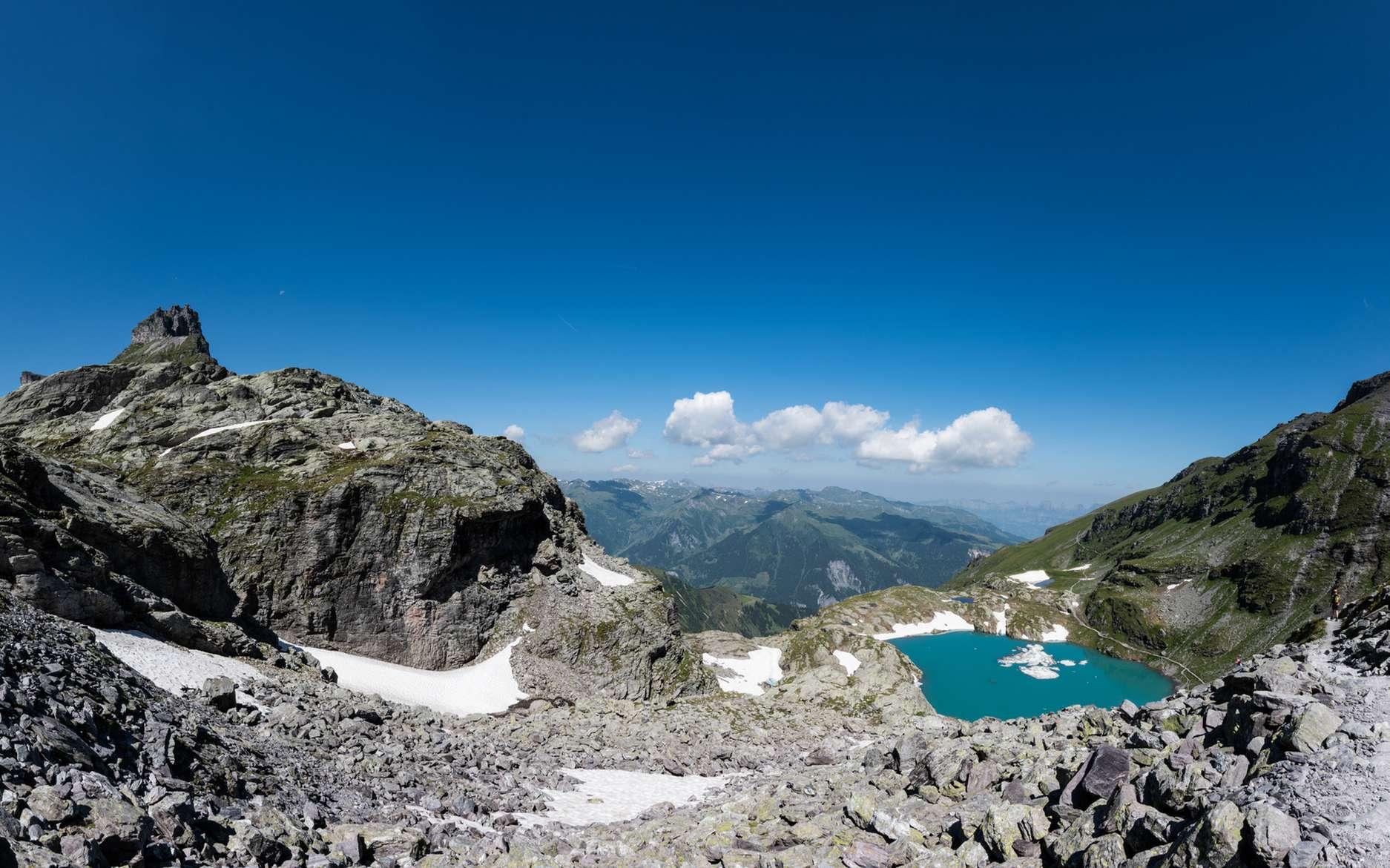 Le Pizol en Suisse a perdu 80 à 90 % de son volume, depuis 2006. © IvanaLea, Fotolia