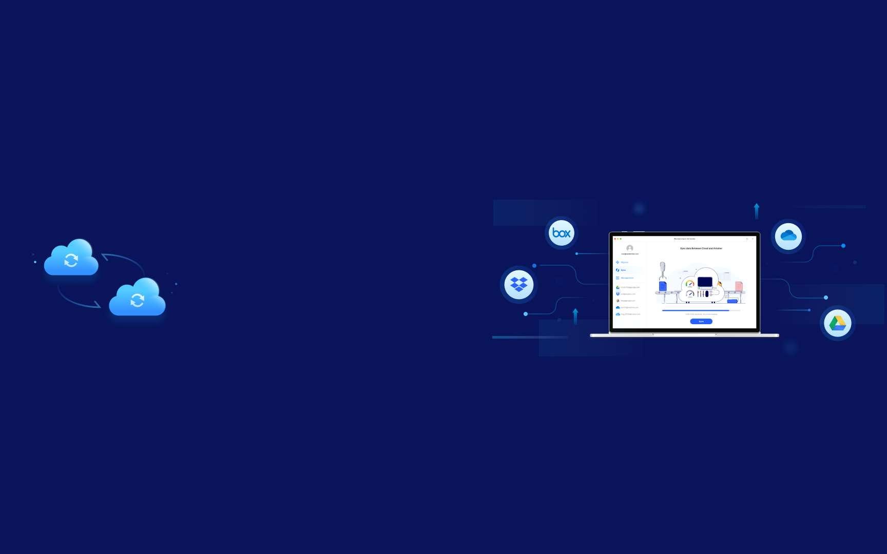 Comment gérer vos espaces de stockage cloud à partir d'une seule interface ? ©Wondershare