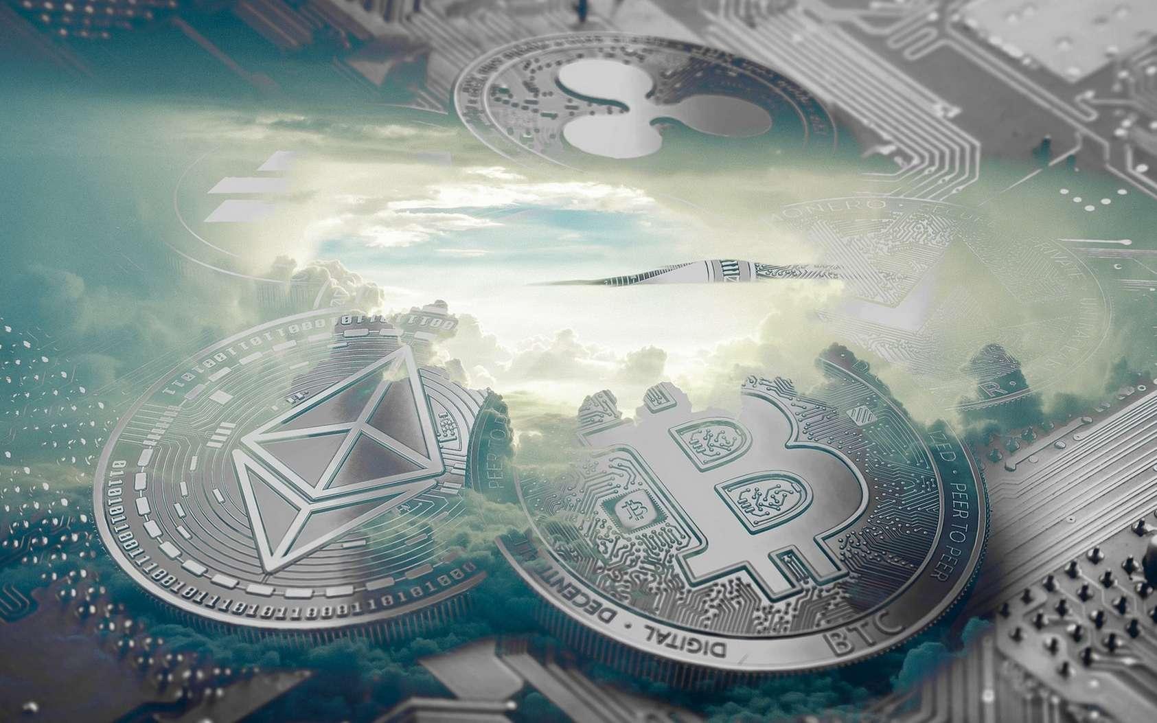 PayPal, Mastercard, Visa… Les grands réseaux de paiement prennent tour à tour le virage des cryptomonnaies. © Sulayman Sanyang/Pixabay