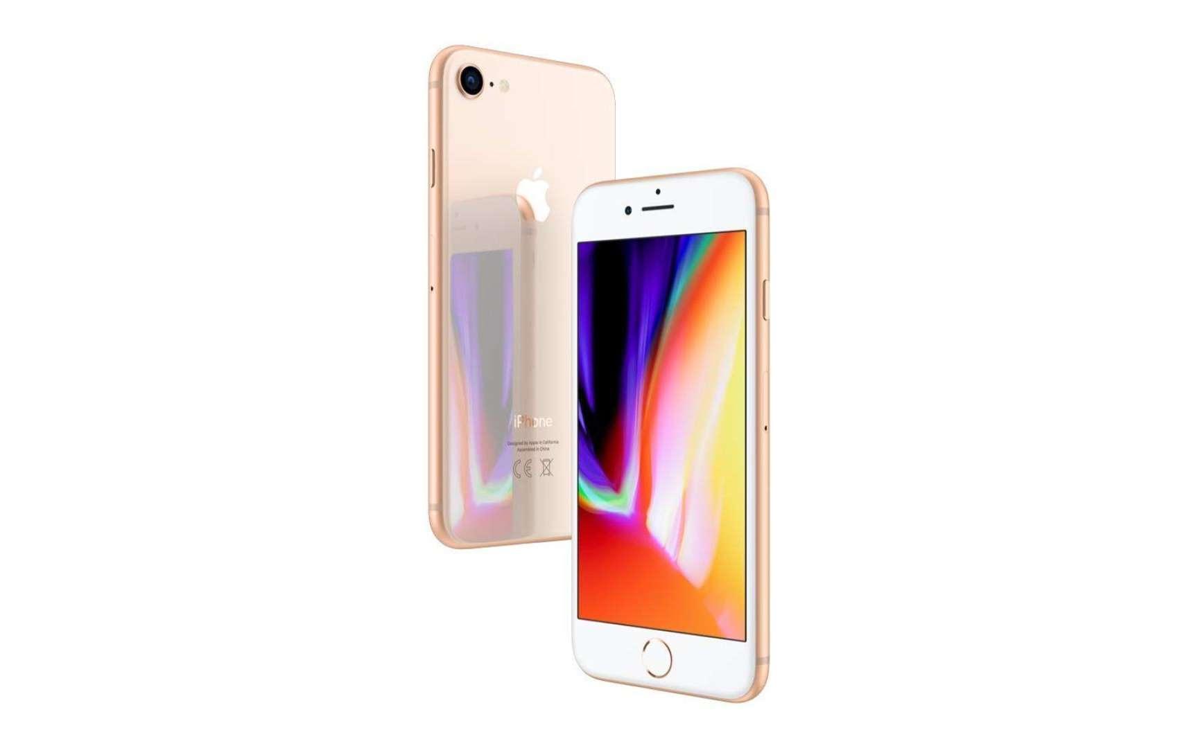 Cet iPhone SE 2 reprendra la taille et la dalle de l'iPhone 8. © Apple