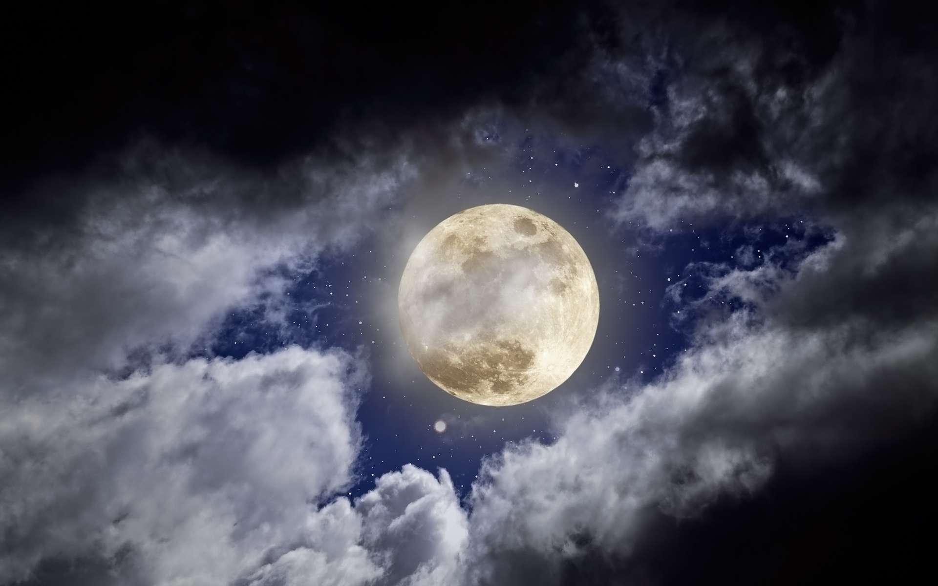 Les enfants sont-ils vraiment plus pénibles les nuits de pleine lune ? S'ils dorment un peu moins qu'à la nouvelle lune, les scientifiques ne les trouvent pas particulièrement plus actifs. © Zacarias Pereira da Mata, Shutterstock
