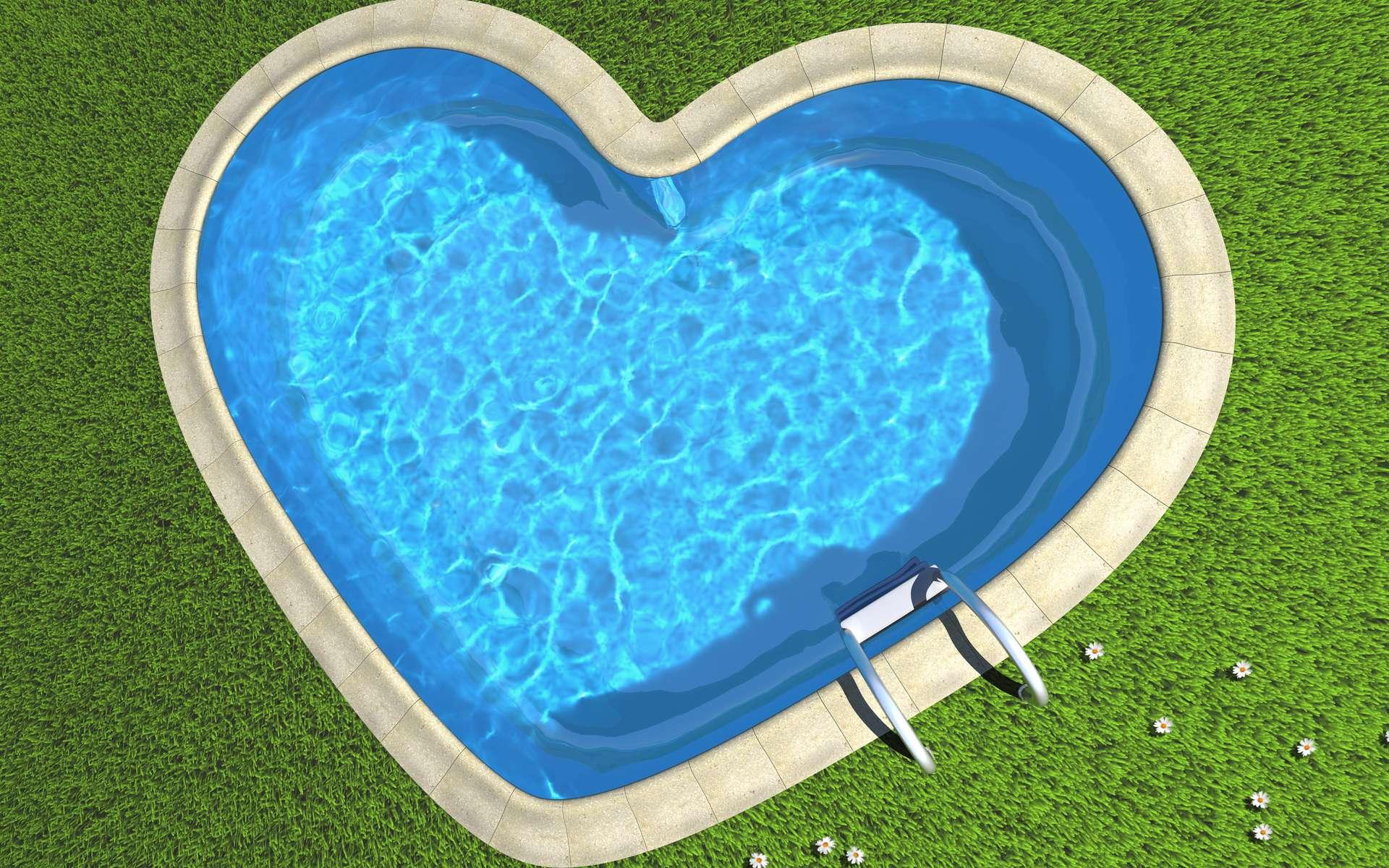Nettoyer le liner de la piscine est une étape incontournable à ne surtout pas négliger. © Michael Nivelet, Fotolia