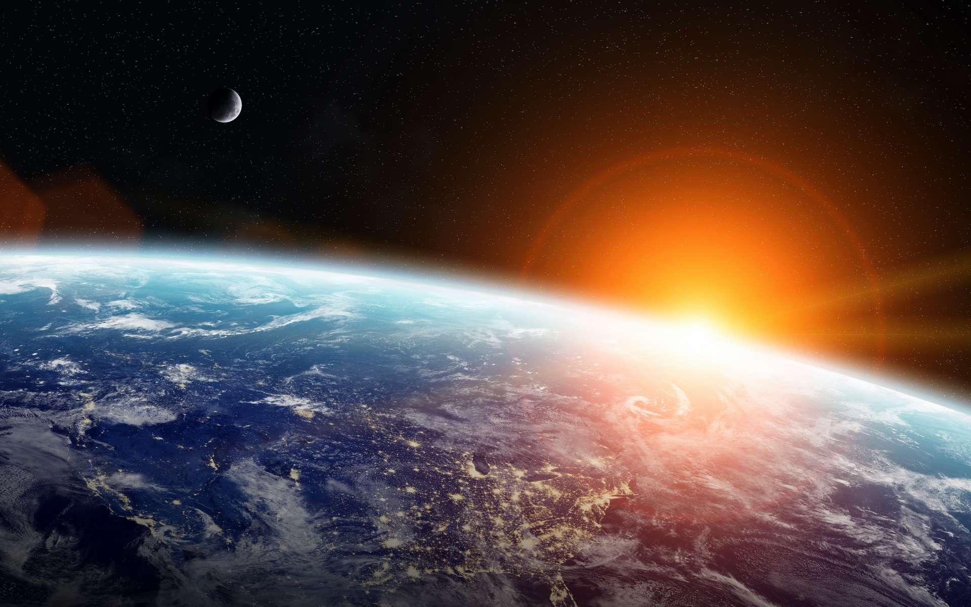 La Terre ne s'est pas réchauffée aussi vite depuis des dizaines de millions d'années. En cause : les activités humaines ! © sdecoret, Adobe Stock