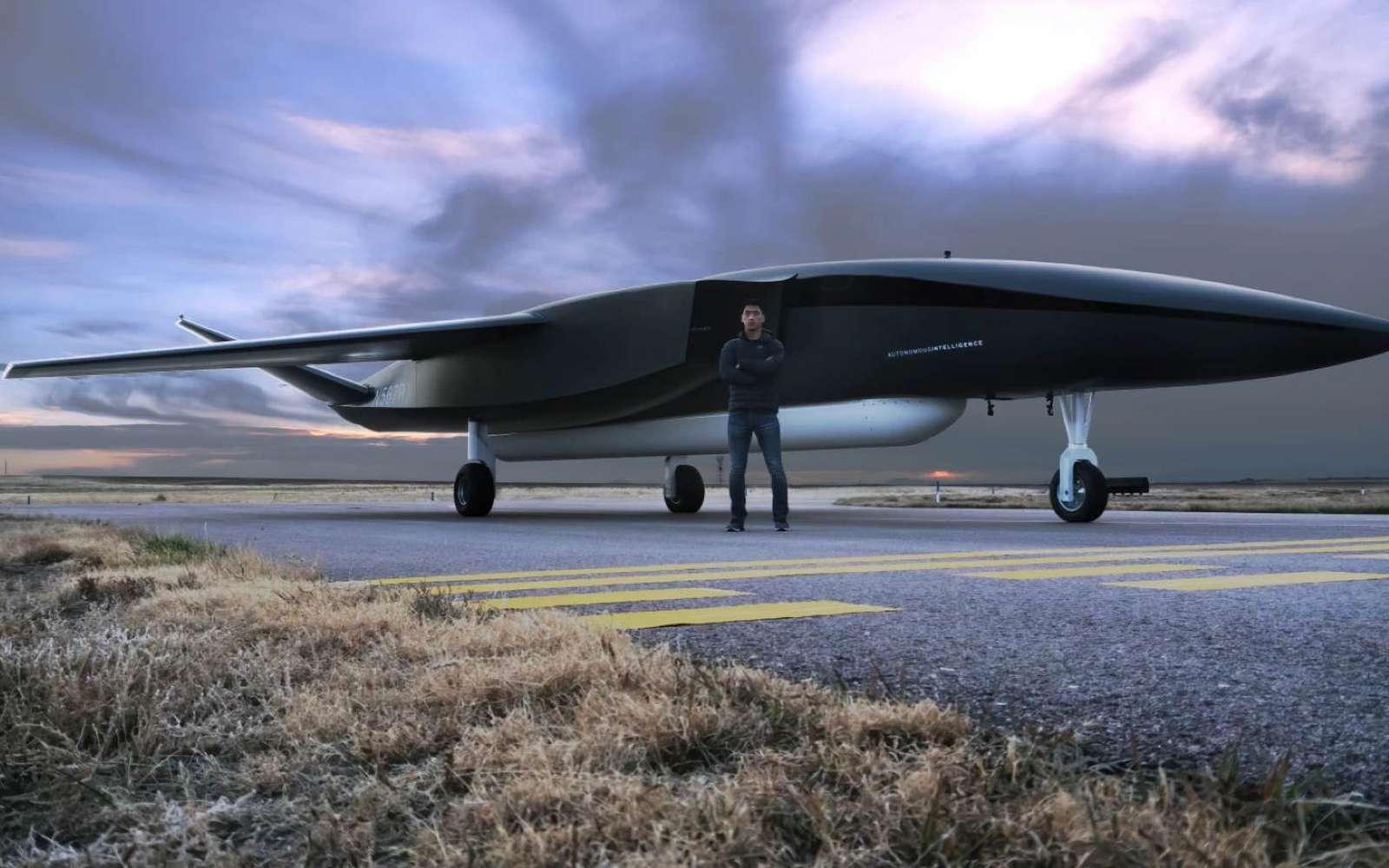 Le Ravn X ressemble à un avion de chasse moderne et il en a les dimensions. © Aevum