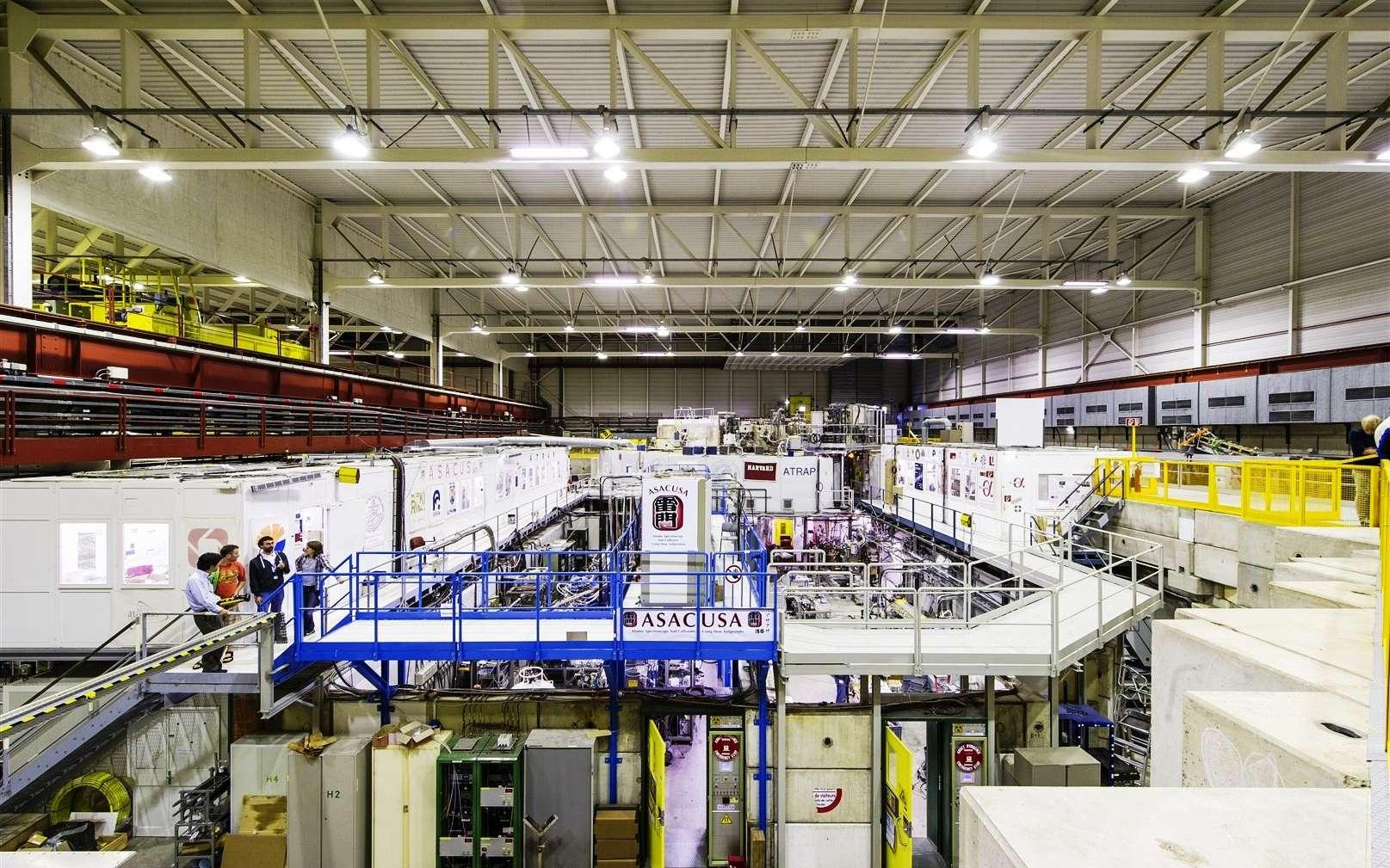 Au Cern, les recherches se poursuivent sur les antiprotons et les atomes d'antihydrogène. Le but : trouver des différences entre les protons et les antiprotons. © Maximilien Brice, Cern