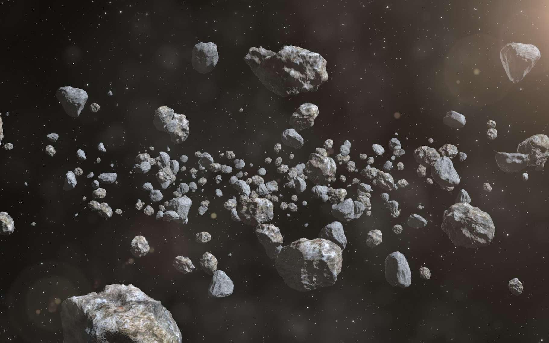 Albert Uderzo rejoint les astéroïdes Asterix, Obelix, Idefix et Panoramix