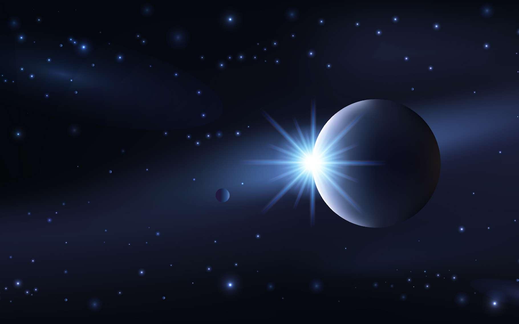 Des chercheurs de l'université de Warwick (Royaume-Uni) ont retrouvé un « monde perdu », une exoplanète dont l'existence n'avait pas pu être confirmée jusqu'ici. © pict rider, Adobe Stock