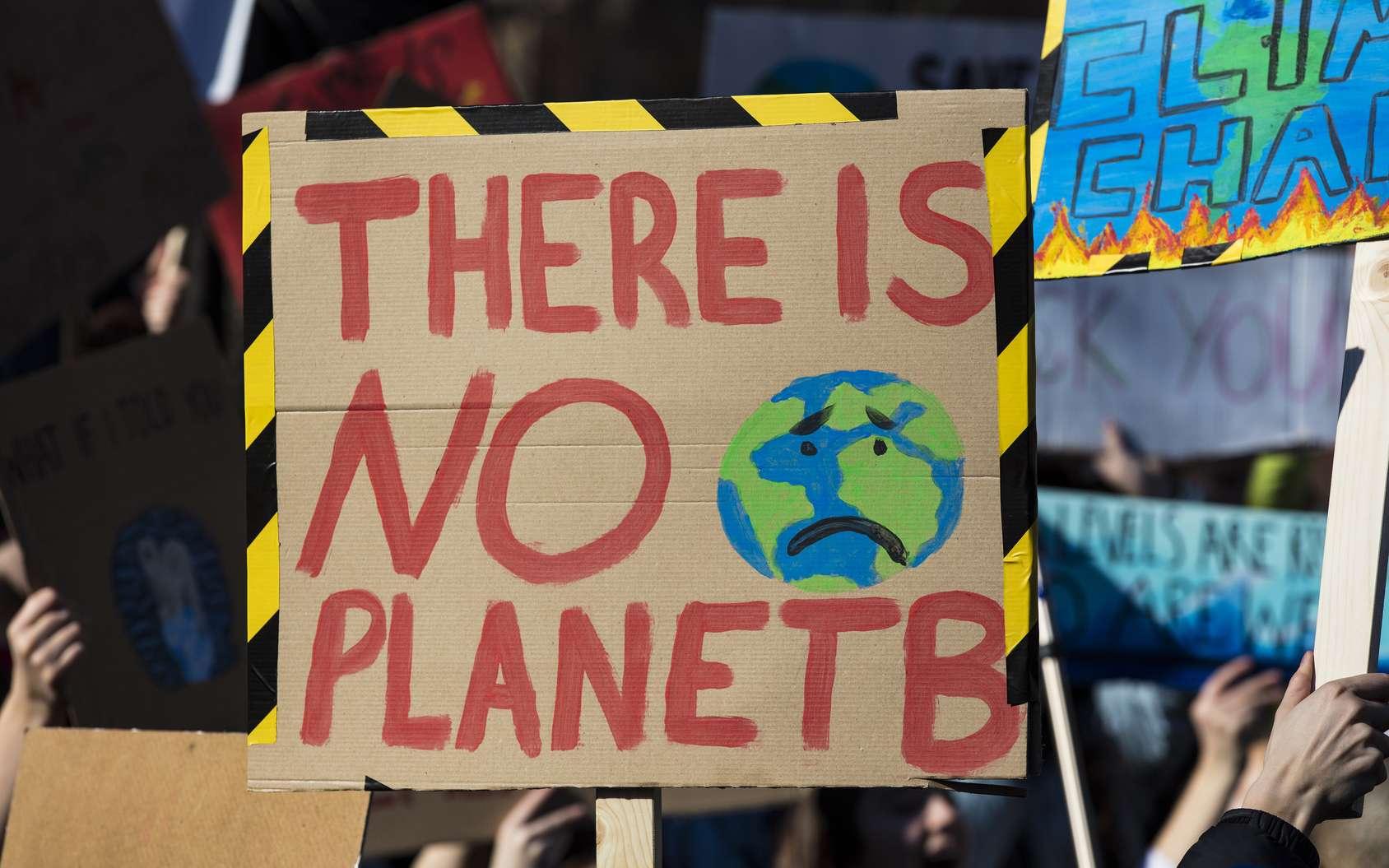 L'opinion publique se mobilise de plus en plus pour le climat. Mais les médias ne suivent pas nécessairement. © ink drop, Fotolia