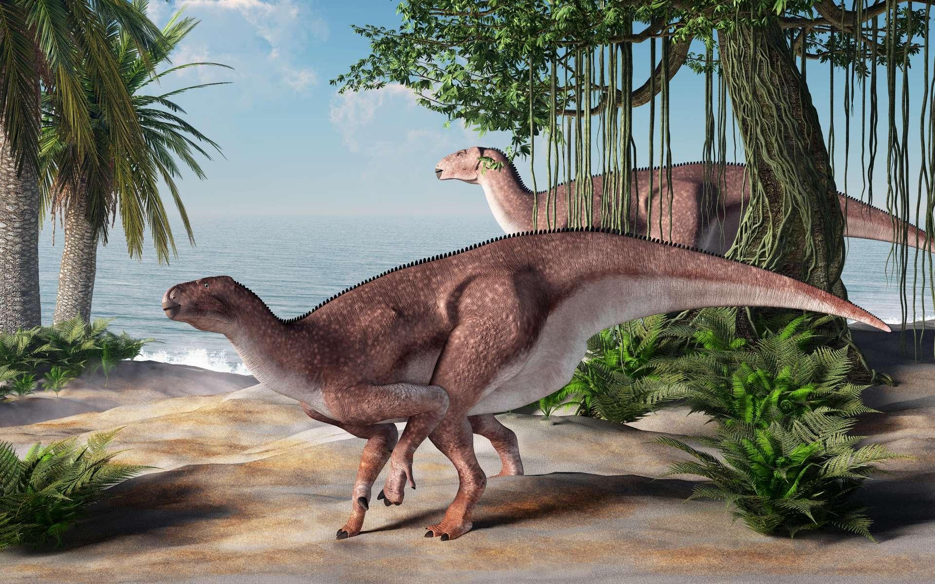 À l'époque des dinosaures, les mammifères se seraient fait concurrence entre eux. © Daniel, Adobe Stock