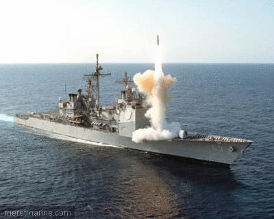 Missile SM-3 tiré depuis l'USS Lake Erie (image d'archive). Crédit US Navy.