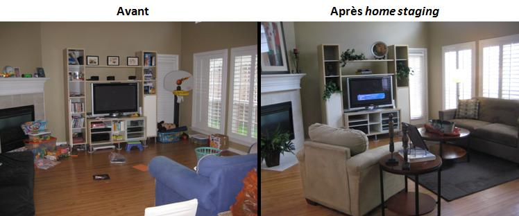 105 3 rouge fm home staging ou comment vendre sa maison en criant ciseaux - Home staging avant apres ...