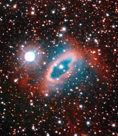 SuWt2 dans toute sa splendeur. Crédit Nasa/<em>Hubble Space Telescope</em>