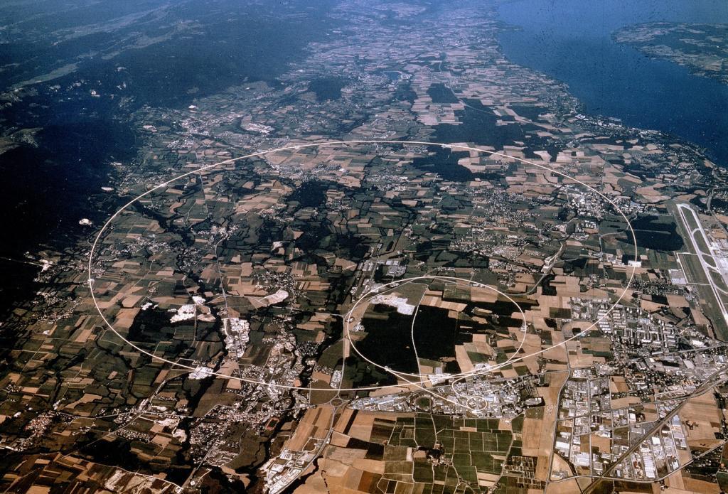 Photos aériennes de votre ville/village... Cern_02