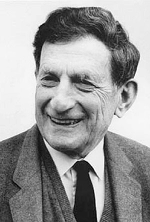 David Bohm. Crédit : David Pratt / <em>Theosophical University Press</em>