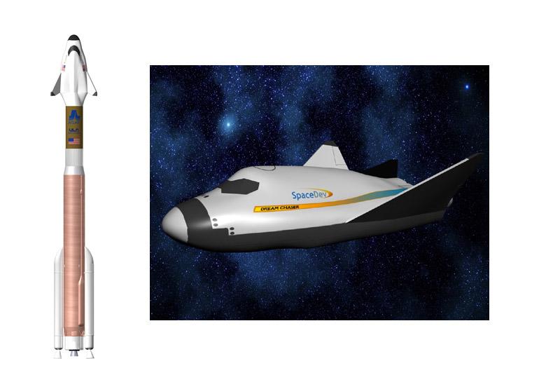 Transport d'équipage par le secteur privé (Commercial Crew) - Page 2 Dreamchaser_atlas5_CCDev_nasa_spacedev