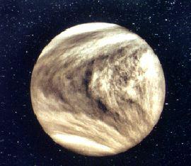 La planète Vénus abriterait-elle la vie ?  Crédit : http://www.seds.org