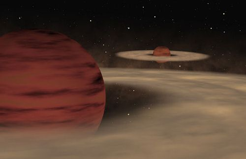 Exoplanetes sans étoiles!!!? Exoplanete_double