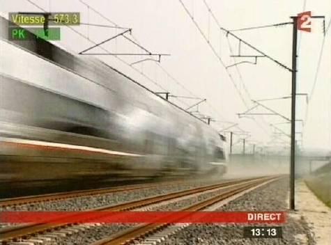 Le TGV passe les 550 V* Tgv-030407f