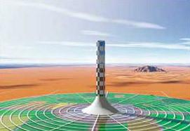 Projet de tour solaire