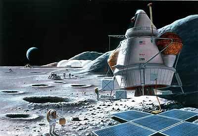 La NASA: tremblements de Lune Base_lunaire3
