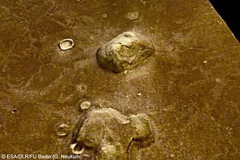 « Le visage de Mars », vu en perspective