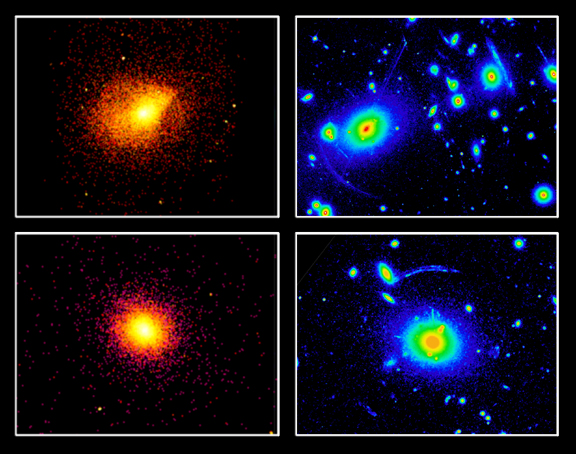 Resultado de imagen de Abell 115 cúmulo de galaxias