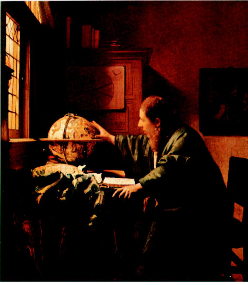 """""""Vermeer-astronom"""""""