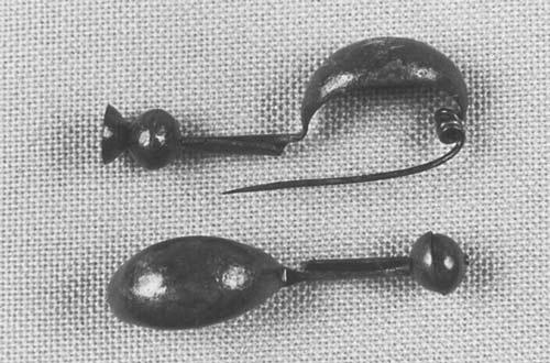 Fibules (Dingsheim, milieu VIe s. av. JC)  ©  André Beauquel