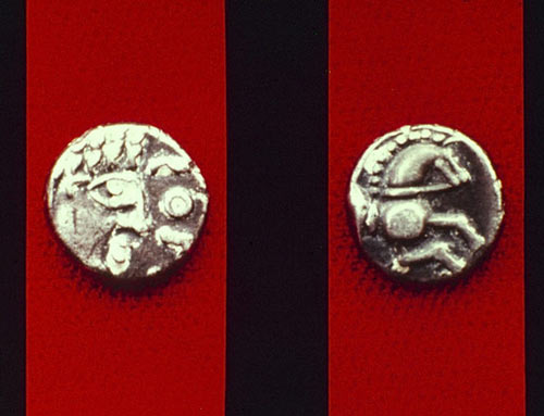 Monnaie celtique (Ehl-Benfeld, 1er s. av. JC) ©  André Beauquel