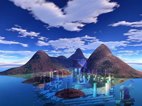 Des lieux mythiques et mystérieux Atlantide_intro