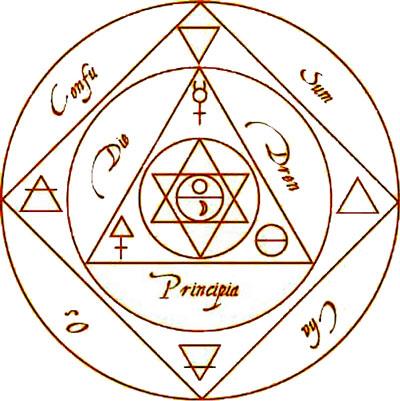 symbole alchimiste
